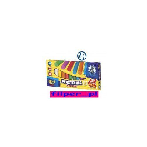 Plastelina ASTRA 12+1 kolorów, 9F16-6383A