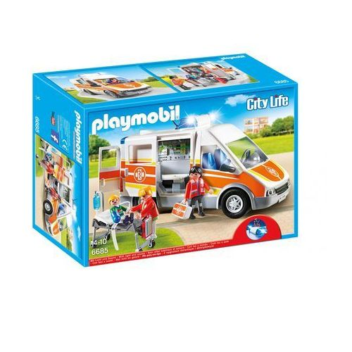 Playmobil CITY LIFE Karetka 6685