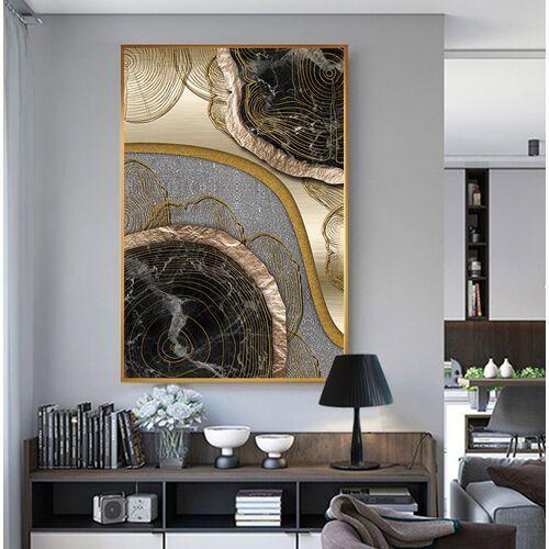 GLOW BOW- obraz na płótnie dekoracyjne wykończony wyraźną strukturą i kamyczkami.
