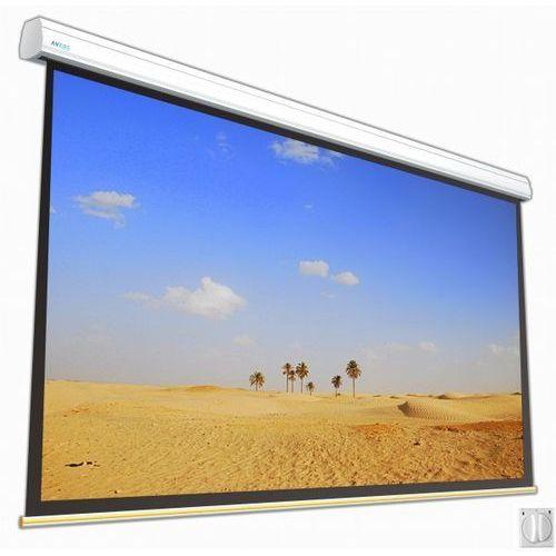 Ekran elektryczny 550x309cm solar 55/31 white ice marki Avers