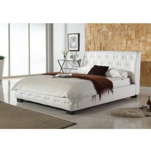 Łóżko 140x200 tapicerowane laviano + stelaż bukowy marki Big meble