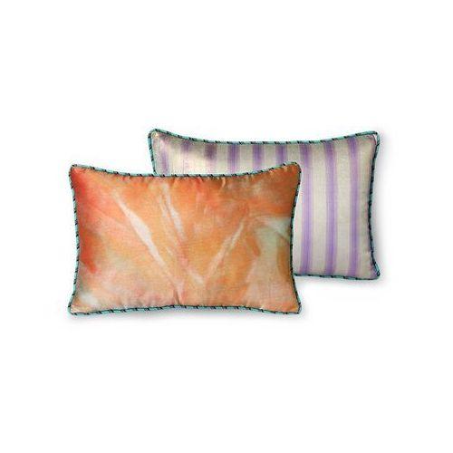 Hkliving doris for hkliving: satynowa poduszka brokatowa z nadrukiem (25x40) tku2130