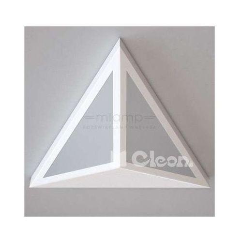 Lampa ścienna serisa 1404/a2/w19/kolor/4000k trójkątna oprawa led 15w kinkiet marki Cleoni