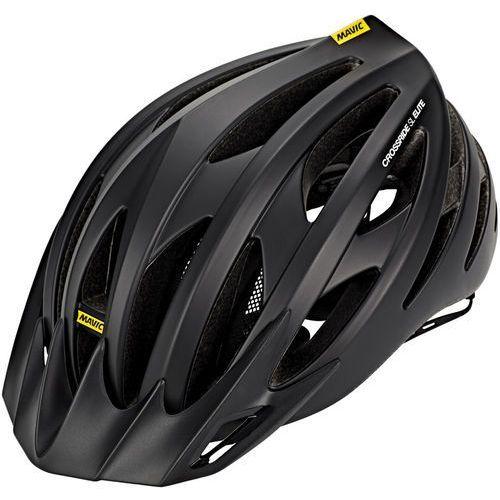 Mavic crossride sl elite kask rowerowy mężczyźni czarny 51-56 cm 2019 kaski miejskie i trekkingowe