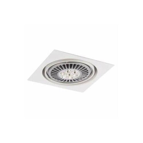Wpuszczana LAMPA sufitowa KOMORO H 3349/GU10/BI Shilo podtynkowa OPRAWA kwadratowa OCZKO regulowane białe, 3349/GU10/BI