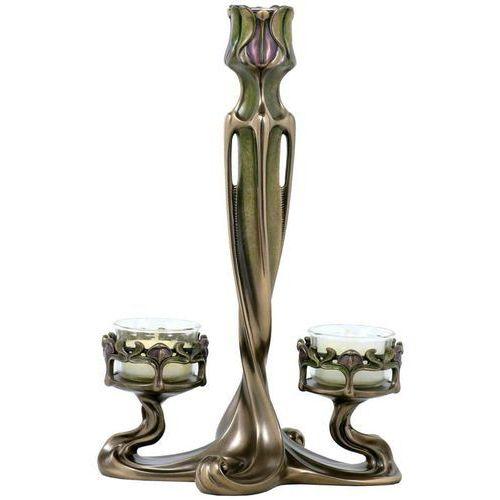 Podwójny świecznik z tulipanami (an10466a4) marki Veronese