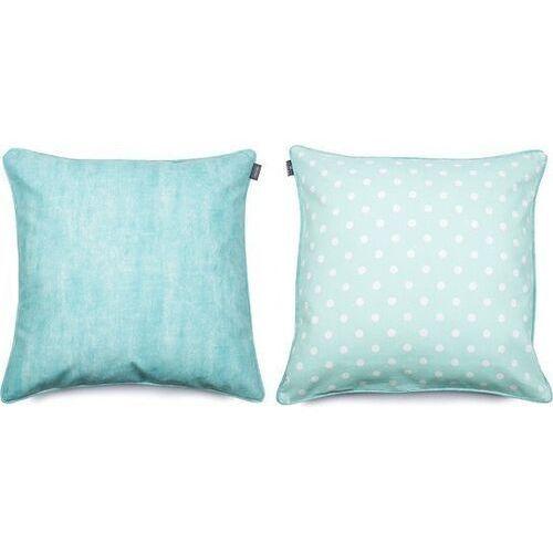 We love beds Poszewka dekoracyjna dots mini 60 x 60 cm miętowa (5902409732047)