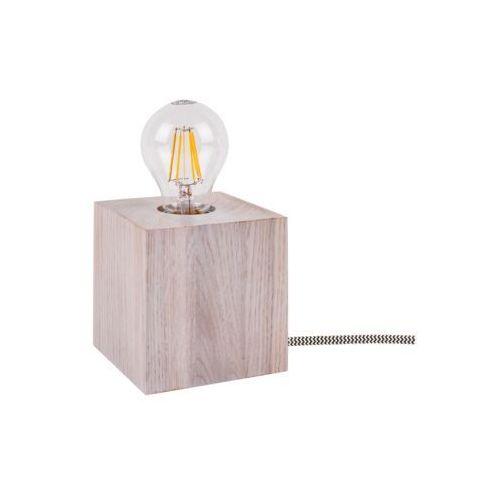 Lampa podłogowa Spot Light Trongo 1x60W E27 dąb biały 7171432, 7171432