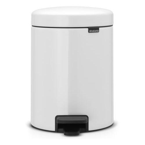 Kosz łazienkowy Brabantia newIcon 5l biały ze stalowym wiaderkiem