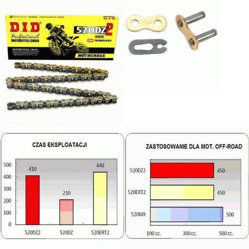Did Ogniwo łączące zapinane łańcucha napędowego 520dz2 gold didcl520dz2 g&b-rj