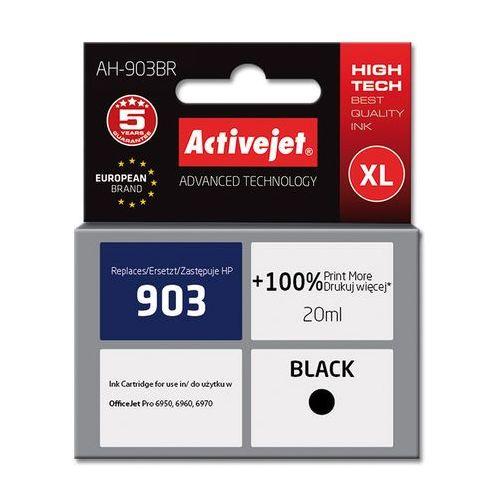 Activejet ah-903br tusz czarny do drukarki hp (zamiennik hp 903 t6l99ae) premium (5901443107507)
