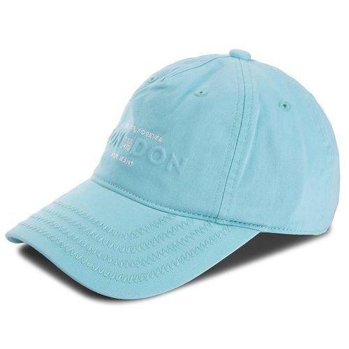 Czapka z daszkiem PEPE JEANS - Peach Unisex Cap Jr PB040208 Water Green 657, kolor niebieski