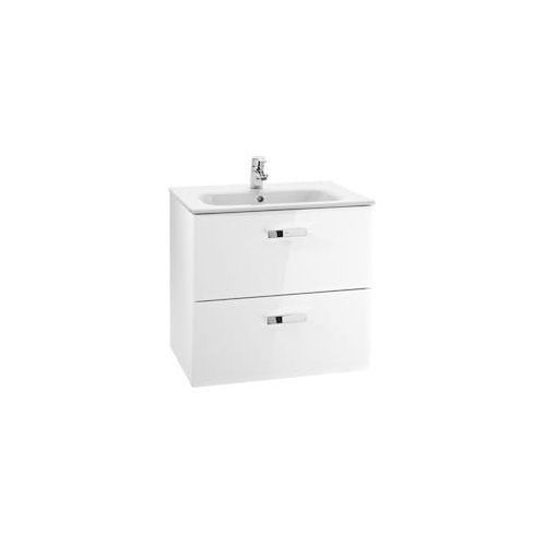 ROCA Victoria Basic Unik szafka z szufladami biały połysk + umywalka 60 A855884806