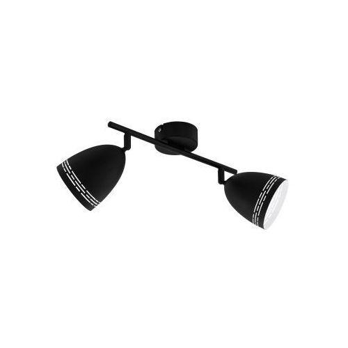 Eglo sabatella 98168 listwa lampa oprawa sufitowa 2x40w e14 czarna/biała