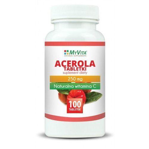 Tabletki Acerola 250 mg 100 tab. (Myvita)