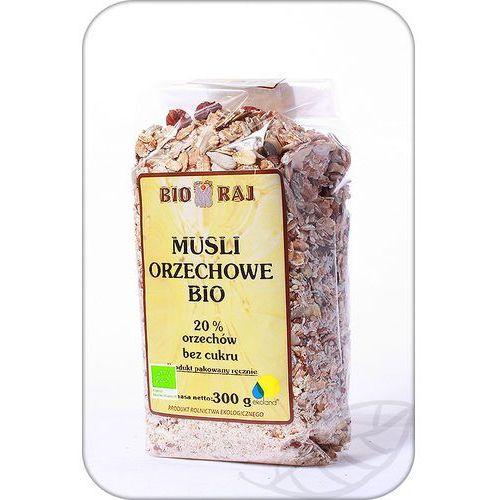 Bio raj : musli orzechowe bio - 300 g