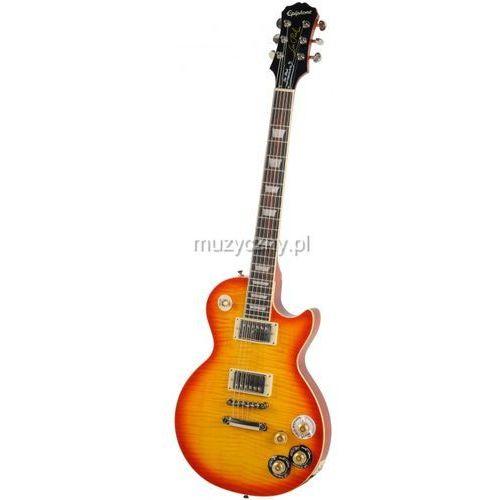 Epiphone les paul tribute plus fc faded cherry gitara elektryczna