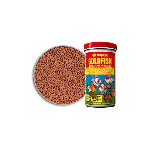 goldfish colour pellet granulat - puszka marki Tropical