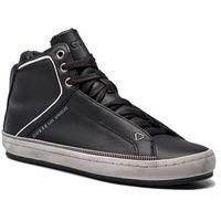 Sneakersy GUESS - FMMID4 LEA12 BLACK