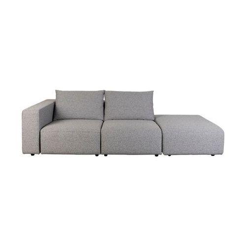 Zuiver outdoor sofa breeze 3-osobowa lewa, szara 3500008