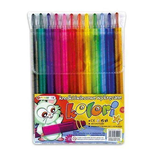 Tadeo trading Kredki świecowe penmate kolori (5906910809946)