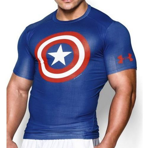 Under armour Koszulka alter ego capitan america compression shirt - 1244399-402