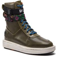 Kozaki - h-cage high st y01776 p1822 h6853 vetiver/multicolor, Diesel, 41-46