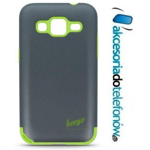 Nakładka etui beeyo Synergy do Samsung J500 szaro-zielona - produkt z kategorii- Futerały i pokrowce do telefonów
