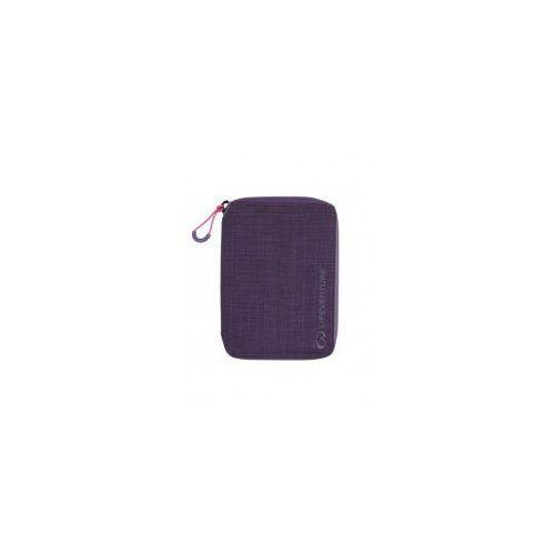 378c6e915dbba Portfel z ochroną przed kradzieżą Lifeventure RFID Mini Travel Wallet  Fioletowy