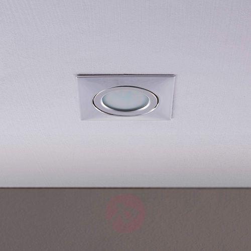 Lampenwelt.com Aluminiowy reflektor wpuszcz. w sufit andrej z led (4251096520293)