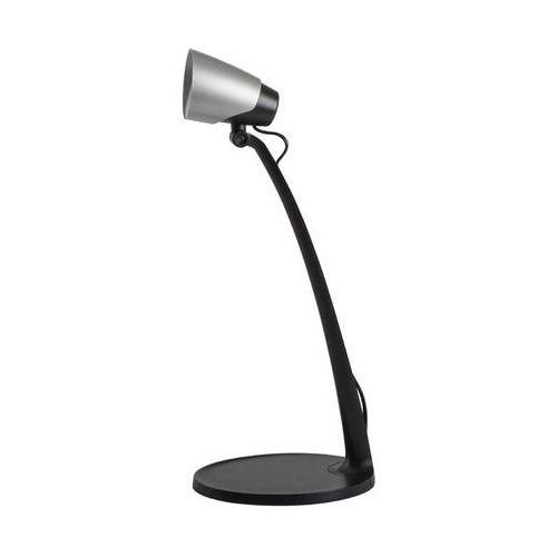 Kanlux Sari 27981 lampa stołowa lampka 1x4,5W LED czarno-srebrna (5905339279811)