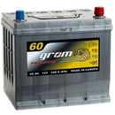 Akumulator GROM Premium 60Ah 540A Japan Prawy plus