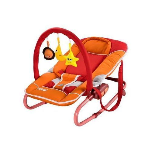 Caretero Łóżeczko dla niemowląt astral z zabawkami