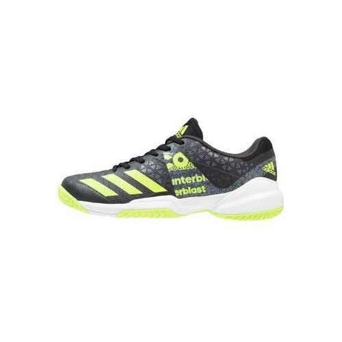adidas Performance COUNTERBLAST FALCON Obuwie do piłki ręcznej core black/solar yellow/white, KDJ42