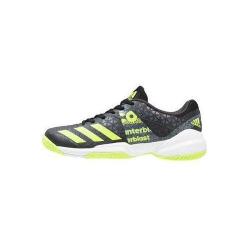 adidas Performance COUNTERBLAST FALCON Obuwie do piłki ręcznej core black/solar yellow/white, kup u jednego z partnerów