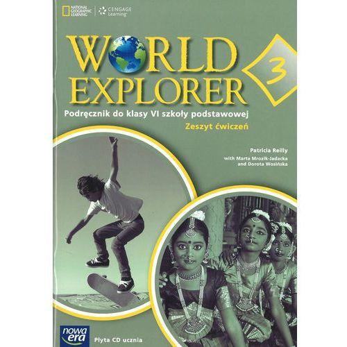 Język angielski World Explorer kl. 6 Zeszyt ćwiczeń z płytą CD Audio (2015)