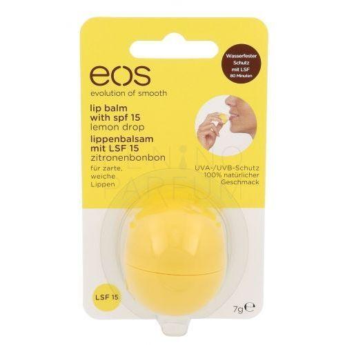 lip balm spf15 balsam do ust 7 g dla kobiet lemon drop marki Eos