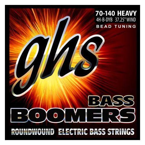GHS Bass Boomers struny do gitary basowej 4-str. Heavy,.070-.140, BEAD Tuning