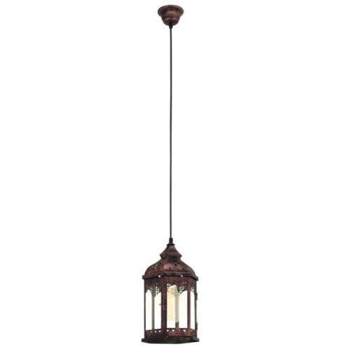 Eglo Lampa wisząca vintage redford 1 - 17 cm miedziana, 49224
