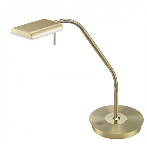 Sorpetaler Bergamo lampa stołowa LED Mosiądz, 1-punktowy - Nowoczesny - Obszar wewnętrzny - BERGAMO - Czas dostawy: od 3-6 dni roboczych (4017807367584)