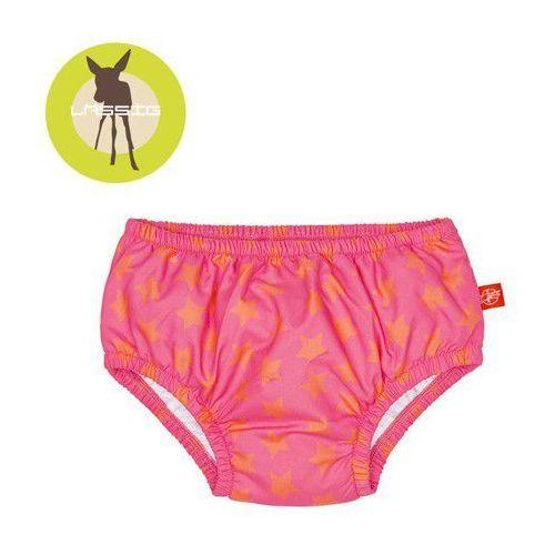 Majtki do pływania z wkładką chłonną peach stars uv 50+ - 18 mc - marki Lassig