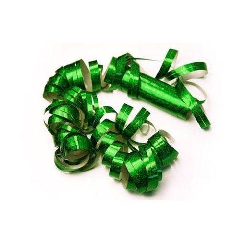 Serpentyna holograficzna - zielona - 18 szt. (5901157457547)