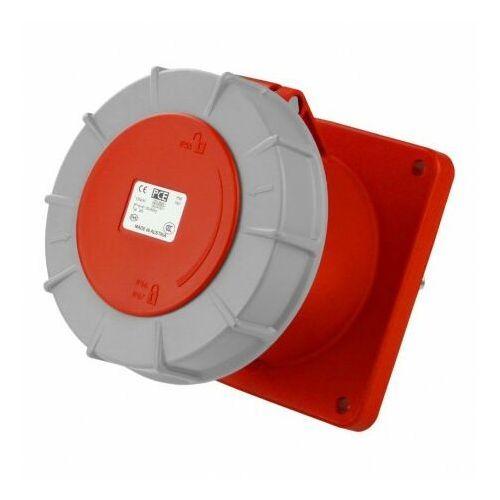 Gniazdo montażowe 125A CEE tablicowe proste Twist 5P 6h IP67 Typ 345 PCE 0674