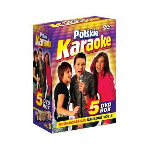 Polskie karaoke vol. 5 - mega kolekcja karaoke (5 płyt dvd) wyprodukowany przez Ryszard music