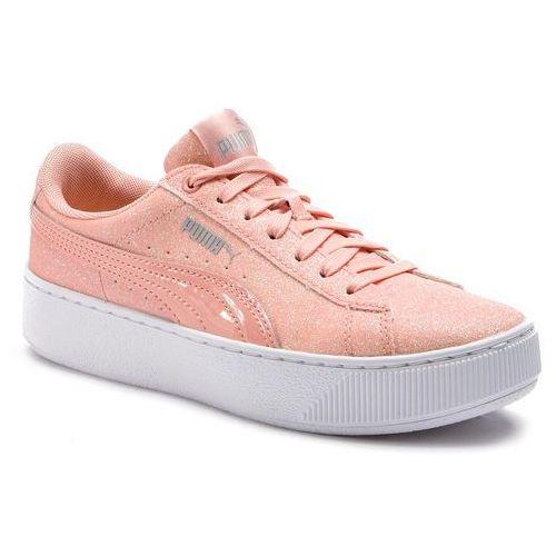 Sneakersy PUMA Tsugi Jun Sport Stripes 367519 01 PwhitePeacoatRred