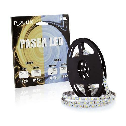 Taśma LED 45W 5 metrów zimna/biała barwa światła 2500 lumenów IP20 POLUX/SANICO, 306500