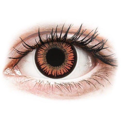 Maxvue vision Soczewki kolorowe czerwone vampire crazy lens 2 szt. (9555644811112)