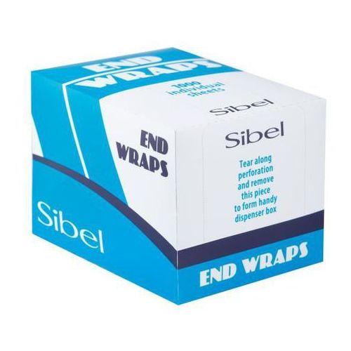 Papierki do trwałej end wraps 1000 szt. marki Sibel