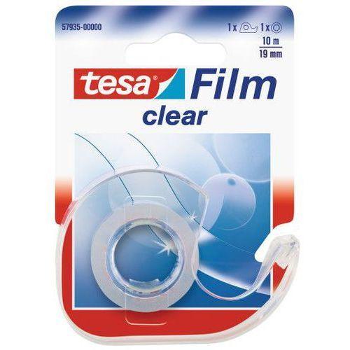 Taśma klejąca clear 19mmx10m transparentna 57935 marki Tesa
