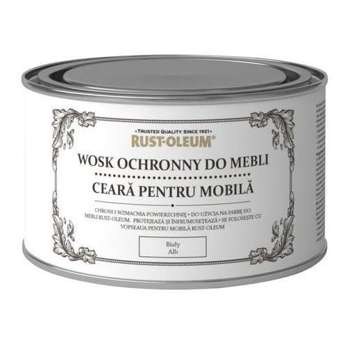 Rust-oleum Wosk do mebli biały 400 ml (5013296038836)